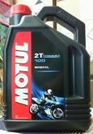 100 2T 4L MOTUL - MOTUL 100 2T MOTOMIX 4L