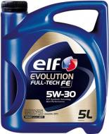 5W-30 5L FULL FE ELF - OLEJ SILNIKOWY 5W-30 5L FULL-TECH FE EVOLUTION ELF C3/C4/RN0