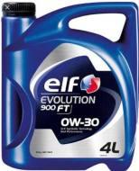 0W-30 4L EVO 900 ELF - OLEJ SILNIKOWY 0W-30 4L ELF EVOLUTION 900 FT API SL/CF, ACEA