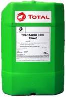 15W-40 20L TRACT HDX - OLEJ SILNIKOWY TRACTAGRI HDX 15W40 20L TOTAL