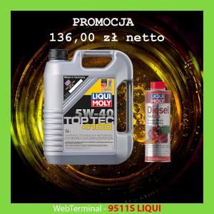 9511S LIQUI - OLEJ SILNIKOWY 5W-40 5L TOP TEC 4100 9511+2666 GRATIS!!!!