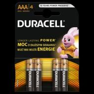 SC-DURB-AAA-4 PARYS - DURACELL BASIC LR03/AAA/MN2400 BLISTER 4szt