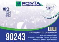 90243 ROMIX - ZESTAW MOC. OSŁON SILNIKA OPEL CORSA BCD !!WebTerminal - Sprzedaż tylko w opakowaniach!!