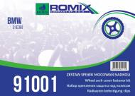 91001 ROMIX - ZESTAW MOC. NADKOLI BMW 3'E36 !!WebTerminal - Sprzedaż tylko w opakowaniach!!