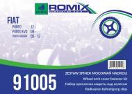 91005 ROMIX - ZESTAW MOC. NADKOLI FIAT PUNTO 12-, EVO !!WebTerminal - Sprzedaż tylko w opakowaniach!!
