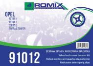 91012 ROMIX - ZESTAW MOC. NADKOLI ASTRA H J CORSA D !!WebTerminal - Sprzedaż tylko w opakowaniach!!