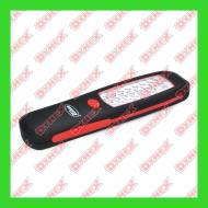 30650 AMIO - Latarka warsztatowa 24 LED 3xAA magnes D