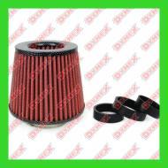 01713/71162 AMIO - Filtr powietrza stożkowy CARBON + 3 adap