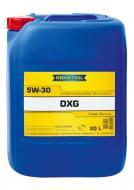 5W-30 20L DXG RAVENOL - Olej silnikowy 5W-30 DXG SAE USVO RAVENOL