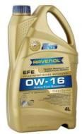 0W-16 4L EFE RAVENOL - Olej silnikowy 0W-16 EFE SAE USVO RAVENOL