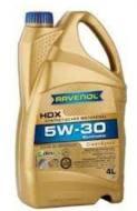 5W-30 4L HDX SAE RAVENOL - Olej silnikowy 5W-30 HDX SAE RAVENOL