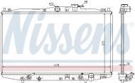63345 NISSENS - CHŁODNICA WODY HONDA ACCORD  COUPE VI (CG) (98-)