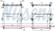 637635 NISSENS - MULTIEXCHANGER RENAULT TWINGO I (93-)