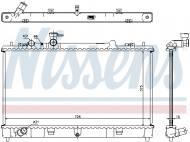 68507 NISSENS - CHŁODNICA WODY MAZDA 6 (GH) (07-)