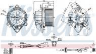 87050 NISSENS - DMUCHAWA KABINOWA CITRO╦N XANTIA (X1, X2) (93-)