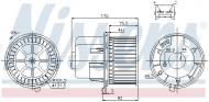 87061 NISSENS - DMUCHAWA KABINOWA FORD TRANSIT (EY) (94-), FORD TRANSIT (FY)