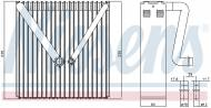 92234 NISSENS - PAROWNIK AUDI A 2 (8Z) (00-)