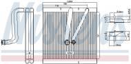 92321 NISSENS - PAROWNIK AUDI A 1 / S 1 (8X) (10-), SEAT IBIZA V (6J) (08-),