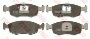 GDB1443 TRW - KLOCKI HAMULCOWE TYLNE WSZYSTKIE MODELE