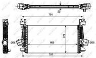 30270 NRF - INTERCOOLER OPEL VAUXHALL ASTRA 09-