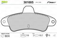 301005 VALEO - KLOCKI HAMULCOWE FIRST FORD MONDEO I FL (GD) (8/1996>9/2000)