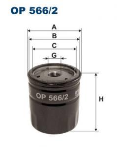 OP566/2 FILTR - FILTR OLEJU