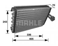 AE36000S MAHLE - PAROWNIK KLIMATYZACJI