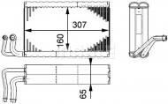AE68000P MAHLE - PAROWNIK KLIMATYZACJI BEHR PREMIUM LINE