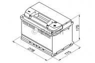 0185757404 GIGAWATT - AKUMULATOR 74AH/680A +P /GIGAWATT/