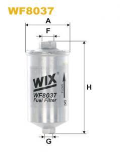 WF8037 WIX - FILTR PALIWA - BENZYNA GTI ,   GTI 16
