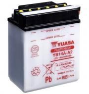 YB14A-A2 YUASA - AKUMULATOR 14AH/190 12V L+ / YUASA MOTOCYKLE YUASA