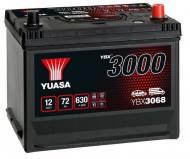 YBX3068 YUASA - AKUMULATOR 70AH/570A P+ YUASA PROFESSIONAL YUASA