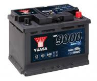 YBX9027 YUASA - AKUMULATOR 60AH/680A P+ YUASA AGM START&STOP YUASA