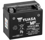 YTX12-BS YUASA - AKUMULATOR 12V 10AH/180A 150x87x130 MAINTENANCE FREE SUCHOŁA
