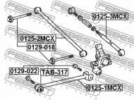 0129-018 FEBEST - ŚRUBA Z MIMOŚRODEM TOYOTA CAMRY (JPP/SED) SXV1,VCV10,MCV10 1