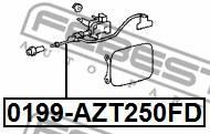 0199-AZT250FD FEBEST - REPERATURKA TOYOTA AVENSIS AZT25 2003.07-2008.11 JP