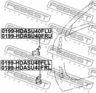 0199-HDASU40FRL FEBEST - ZAWIAS KLAPY TOYOTA LAND CRUISER PRADO GDJ150,GRJ150,KDJ150,