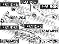 1629-204 FEBEST - ŚRUBA Z MIMOŚRODEM MERCEDES BENZ E-CLASS 212 4 MATIC 2008-20