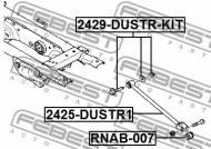 2429-DUSTR-KIT FEBEST - ŚRUBA Z MIMOŚRODEM RENAULT DUSTER 2011-
