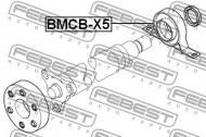BMCB-X5 FEBEST - PODPORA WAŁU NAPĘDOWEGO BMW X5 E53 1999-2006 ECE