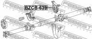 BZCB-639 FEBEST - ŁOŻYSKO WAŁU NAPĘDOWEGO MERCEDES BENZ VITO/VIANO 639 2003-20