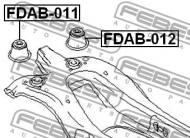 FDAB-011 FEBEST - TULEJA TYLNEJ BELKI FORD MONDEO GE 2000-2007 EU