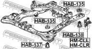 HAB-137 FEBEST - TULEJA RAMY HONDA ACCORD CL9 2003-2008 EU
