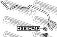 HSB-CF4F FEBEST - GUMA STAB. PRZÓD D26.5 HONDA ACCORD 4D CF3 JP