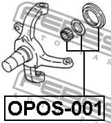 OPOS-001 FEBEST - REPERATURKA ZAWIESZENIA KPL.3 ELEM OPEL FRONTERA B 1998-2004