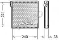 DEV09102 DENSO - Parownik, klimatyzacja DUCATO (250_, 290_) 2.2/2.3/3.0 D Multijet