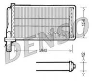 DRR01001 DENSO - NAGRZEWNICA ALFA ROMEO 166  LANCIA  KAPPA  (ALL)