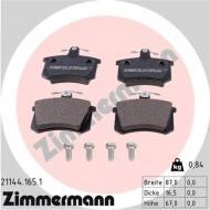 21144.165.1 ZIM - KLOCKI HAMULC. FIAT CROMA  85-96 (+ABS)