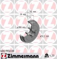 600.1950.00 ZIM - BĘBEN HAMULC. VW GOLF I,II  74-93