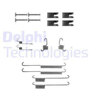 LY1140 DELPHI - SPRĘŻYNKI SZCZĘK H. 1.6-2.0  +KOMBI  228.6X44  01/93-->